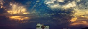 Dramatic clouds by fichot