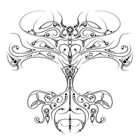 Tree of Life Tattoo Design by the-H-word