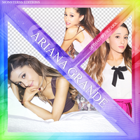 Photopack PNG Ariana Grande by MonsterssEditions