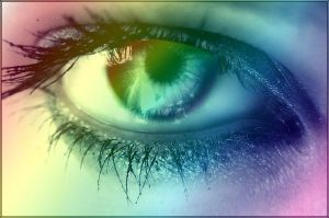 Rainbow Eye by mirmirs