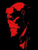 Hellboy by bboulderer