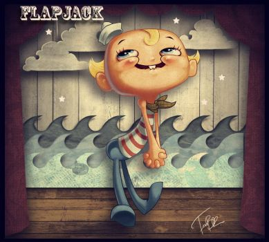 Flapjack by f0xyme