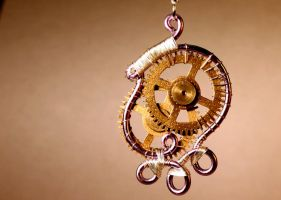 Steampunk pendant 20 by TheCraftsman