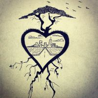 Heart is Where We Are Rooted by meesemaster1990