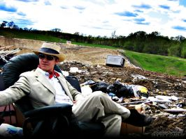 Suits in a Landfill - 006 by PxRxSxRx
