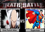 Death Battle - One Punch Man VS Superman by roxan1930