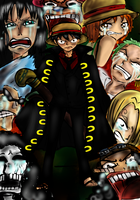 One piece Mugiwara kaizokudan by SingingtheBlues