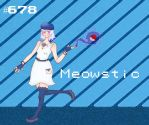 Pokemon Gijinka: Meowstic!! by silentstroke