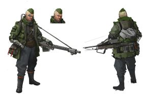 Dieselpunk Sniper by Windmaker