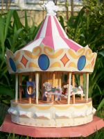 Paper Carousel by tini
