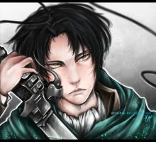 Corporal Rivaille by Esthiell