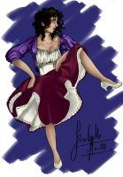Isabelle himes -coloured by lillytuft