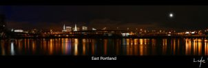 Portland at Night by Krannichfeld