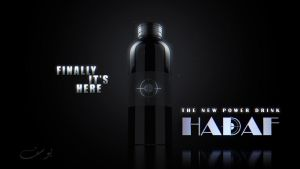 'HADAF' power drink by maxspider