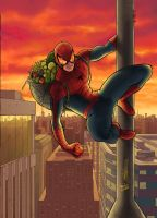 Spider man - comission - colors by GabrielJardim