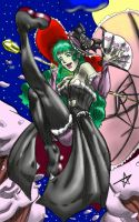 Lady Morrigan - colored by InvincibleSoul