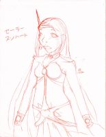 Sketch 1: SunHeart by mintjam