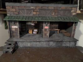 Warehouse Loading Dock (1:18 scale) by ShayHahn