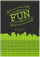 School Fun Day Poster by ch4os532
