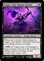 MtG - Veigar, Tiny Master of Evil by soy-monk