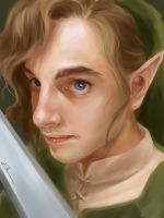 Link - Quick drawing by ElleDrawsAndStuff