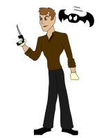 Dexter and his Dark Passenger by P5YCHIC