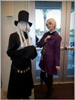 Alois Trancy and Undertaker - Fandom Con 2014 by Ink-and-Chopsticks