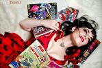 Nerdy Pin Up! by Kiara-Ann