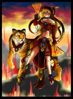 FIRE GODDESS by elquijote