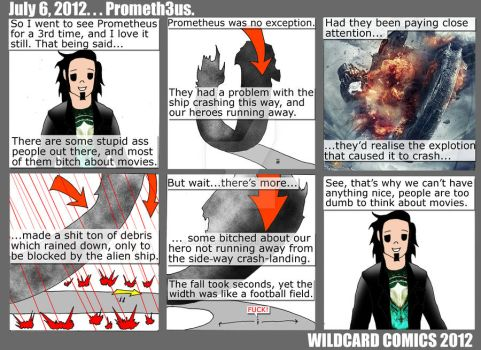 Prometheus Critics by wildcardcomics