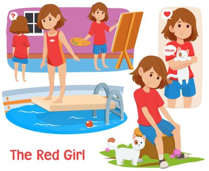 The Red Girl by AbyssWatchers
