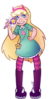 Star and the Forces of Evil by KiraNohara