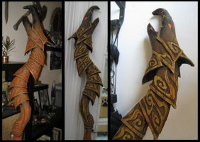 Making of... Skyrim Destruction Staff - painting by wintermass
