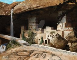 Anasazi City by smallreddog