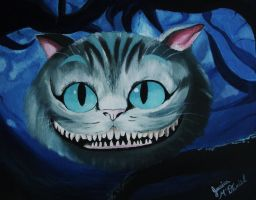 Cheshire Cat. by letsracetime