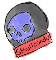 Skull candy by peoplperson