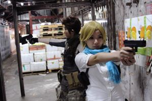 Resident Evil 6 - Sherry n Piers Team up by fuuyukida