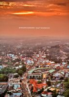 Kurunegala City at dusk by farcry77
