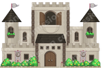 Pixel Castle for  Drache-Lehre by r0se-designs