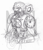 March of Robots #3: Chrono Master by ConstantM0tion