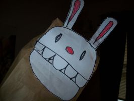 Paper Bag Max Head Hand Puppet by YoshiAngemon