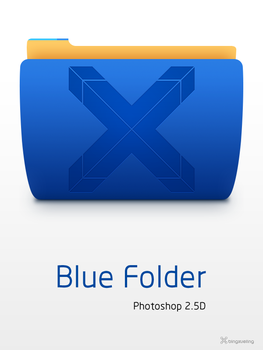 Blue Folder by bingxueling