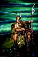 King Loki, Chillaxin' by EmbryonicPith