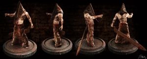 Pyramid Head 2 -Silent Hill- by Batatalion