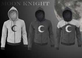 Moon Knight Hoodies by prathik