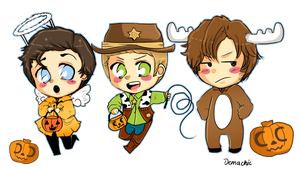 SPN: Trick or Treat  :D by Demachic