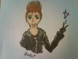 Demyx - The Melodious Nocturne by delightfuliza