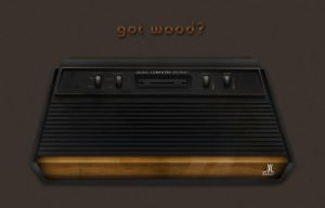 ATARI 2600 Woody by Mellergaard
