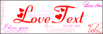 LoveText Brush Set by Ellaya