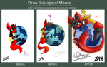 Draw This Again - Mozilla Lucario by HokeyPokey08196